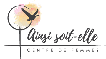 Logo Ainsi soit-elle Centre de femmes