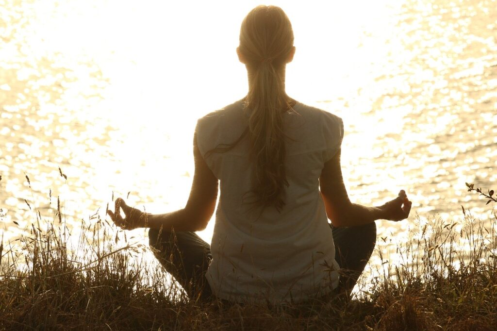 méditation recueillement selfcare prendre soin de soi Vivre à coup de cœur