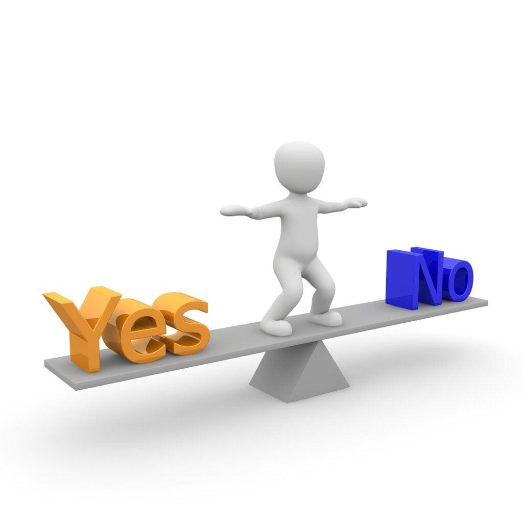 decision, question, exercice ecriture, Vivre à coup de coeur